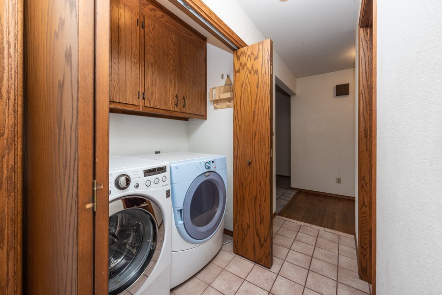 Real Estate Photography - 3815 Michigan Avenue, Manitowoc, WI, 54220 - Laundry Room