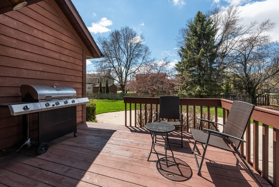 Real Estate Photography - 3815 Michigan Avenue, Manitowoc, WI, 54220 - Deck