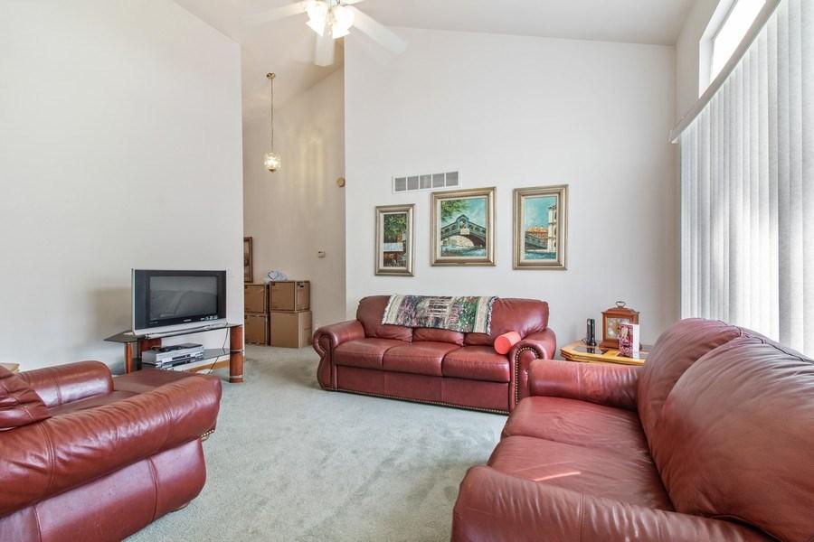 Real Estate Photography - 233 N Harbor Landing, Braidwood, IL, 60408 - Living Room