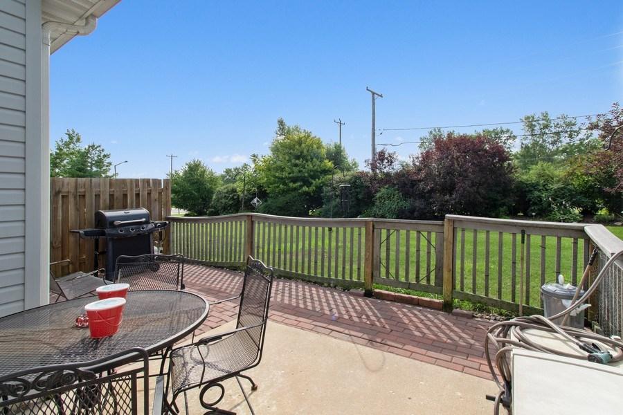 Real Estate Photography - 233 N Harbor Landing, Braidwood, IL, 60408 - Back Yard