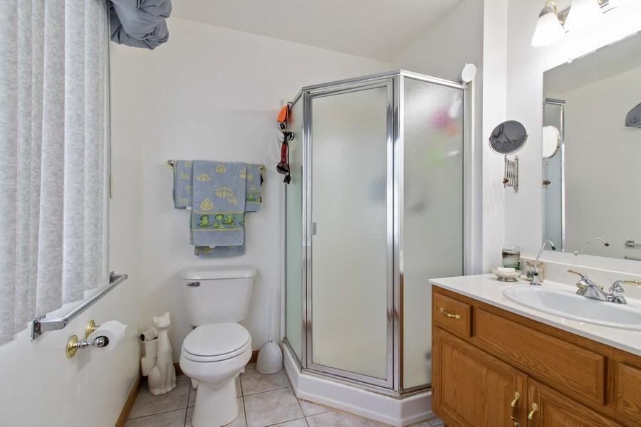 Real Estate Photography - 233 N Harbor Landing, Braidwood, IL, 60408 - Bathroom