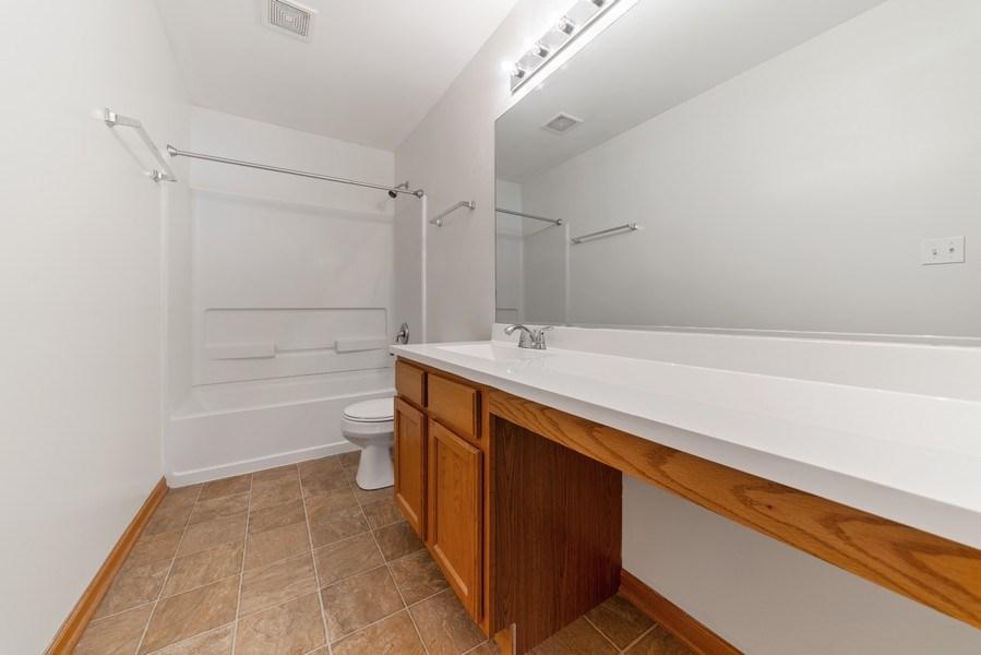 Real Estate Photography - 131 Springbrook Trail South, Oswego, IL, 60543 - Master Bathroom