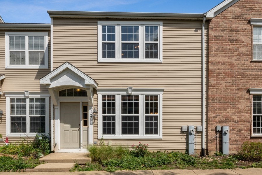 Real Estate Photography - 131 Springbrook Trail South, Oswego, IL, 60543 - Front View