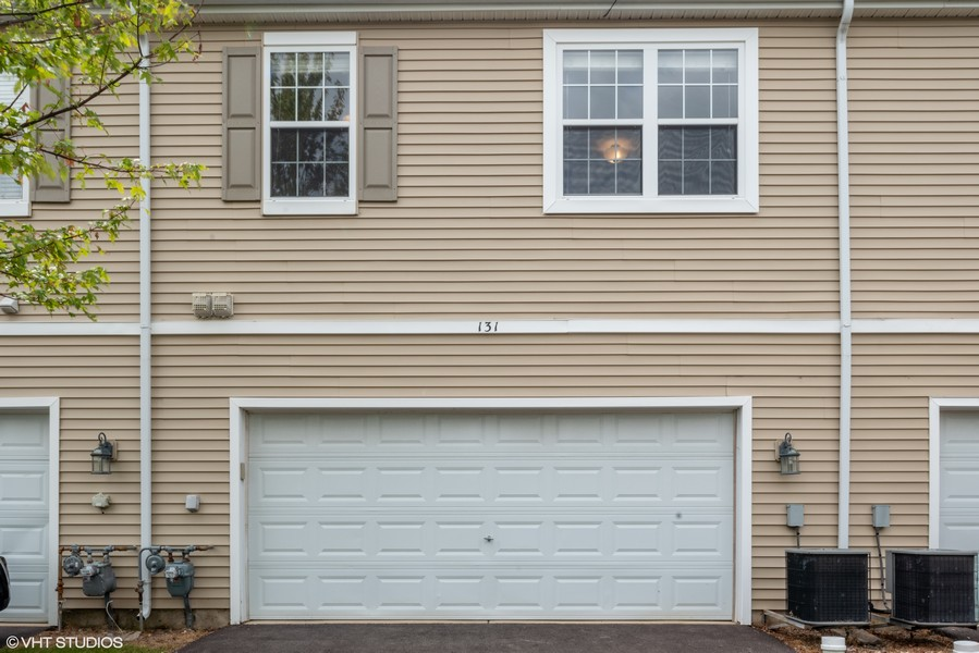 Real Estate Photography - 131 Springbrook Trail South, Oswego, IL, 60543 - Exterior Rear