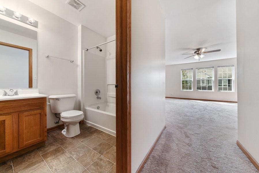 Real Estate Photography - 131 Springbrook Trail South, Oswego, IL, 60543 - Hall To Loft