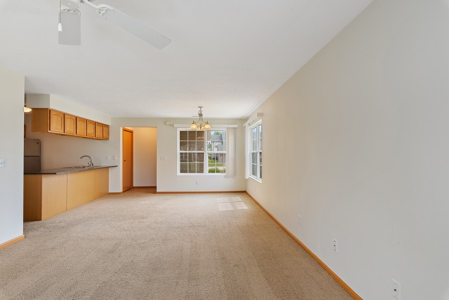 Real Estate Photography - 949 Penny Ln, Sycamore, IL, 60178 - Living Room / Dining Room