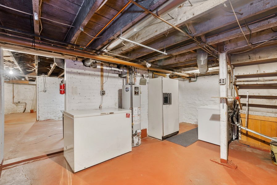 Real Estate Photography - 715 W State St, Sycamore, IL, 60178 - Basement