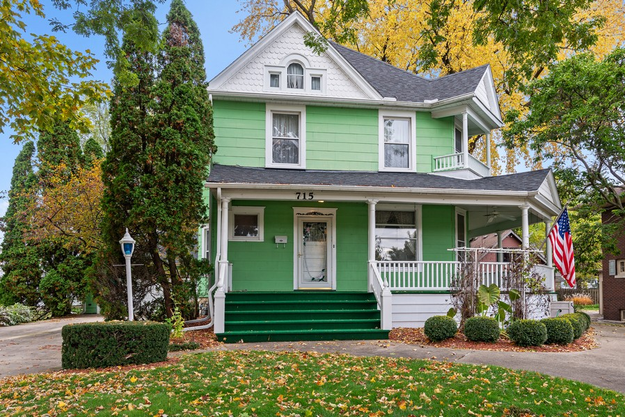 Real Estate Photography - 715 W State St, Sycamore, IL, 60178 - Front View