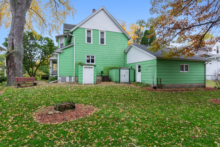 Real Estate Photography - 715 W State St, Sycamore, IL, 60178 - Rear View