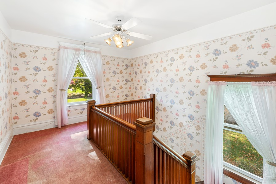 Real Estate Photography - 715 W State St, Sycamore, IL, 60178 - Staircase