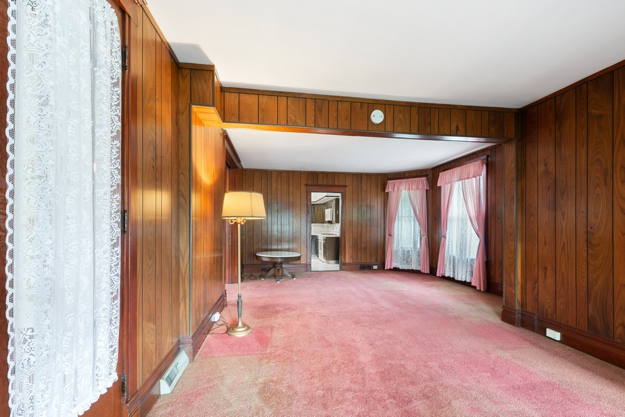 Real Estate Photography - 715 W State St, Sycamore, IL, 60178 - Living Room / Dining Room