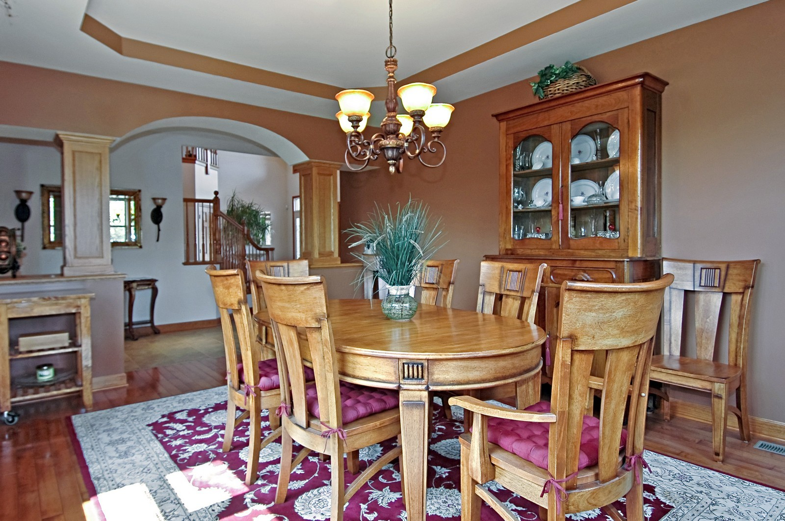 Real Estate Photography - 6513 Sweet Bay Drive, McHenry, IL, 60050 - Foyer/Dining Room