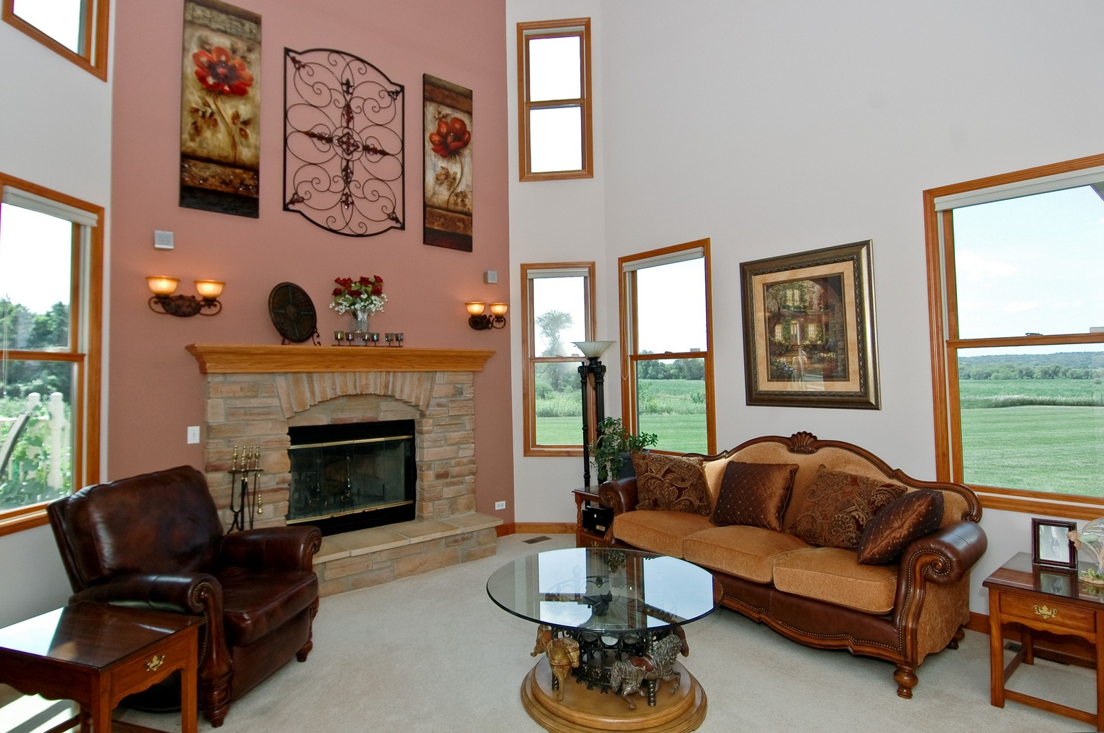 Real Estate Photography - 6513 Sweet Bay Drive, McHenry, IL, 60050 - Family Room