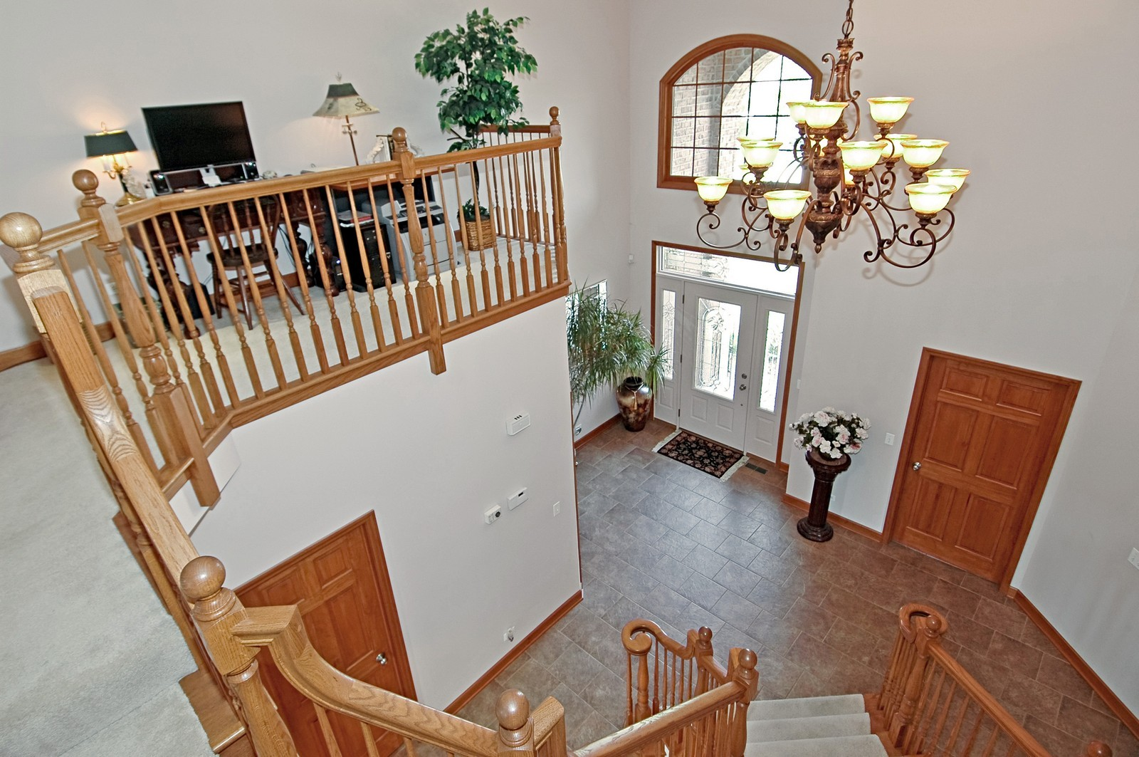 Real Estate Photography - 6513 Sweet Bay Drive, McHenry, IL, 60050 - Foyer