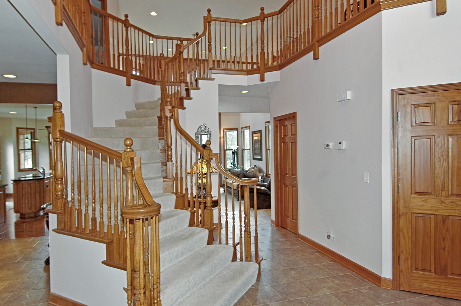 Real Estate Photography - 6513 Sweet Bay Drive, McHenry, IL, 60050 - Staircase