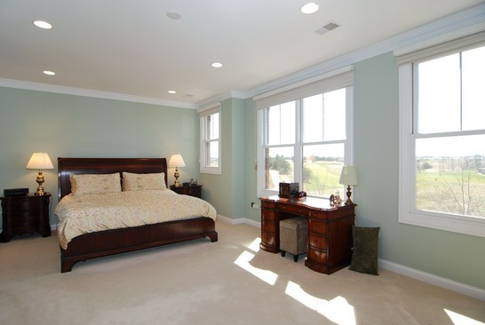 Real Estate Photography - 1881 Admiral Ct, Glenview, IL, 60026 - Master Bedroom