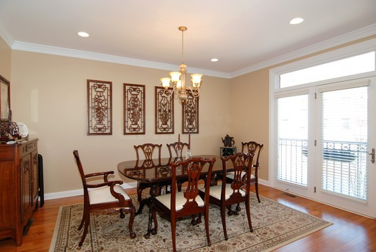 Real Estate Photography - 1881 Admiral Ct, Glenview, IL, 60026 - Dining Room