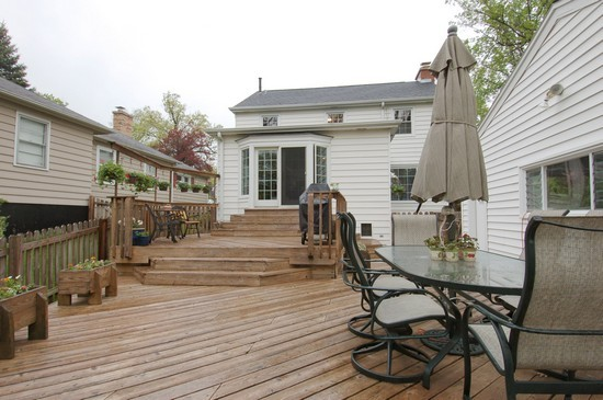 Real Estate Photography - 793 Forest Ave, Glen Ellyn, IL, 60137 - Deck