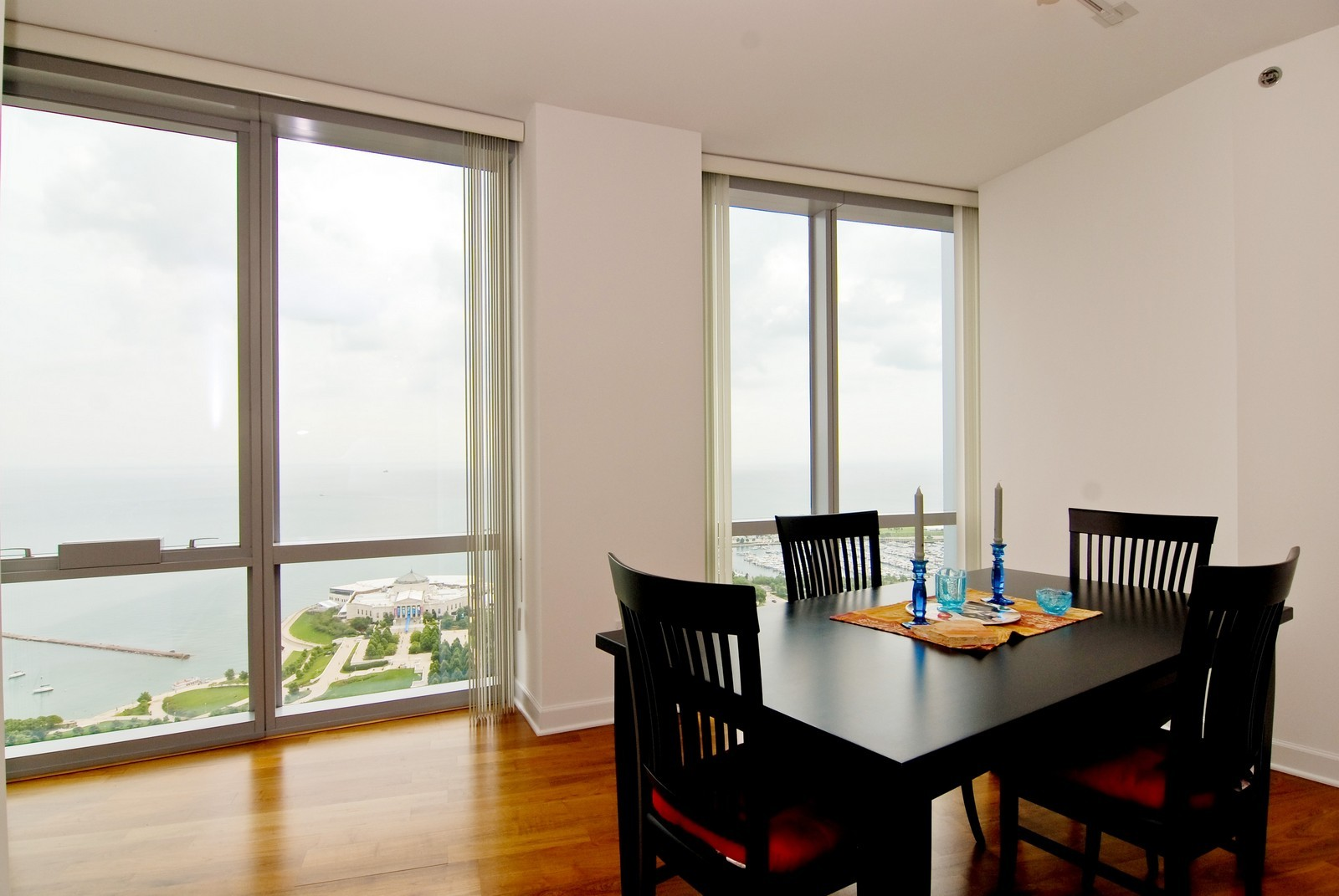 Real Estate Photography - 1211 S Prairie, 4001, Chicago, IL, 60605 - Breakfast Area