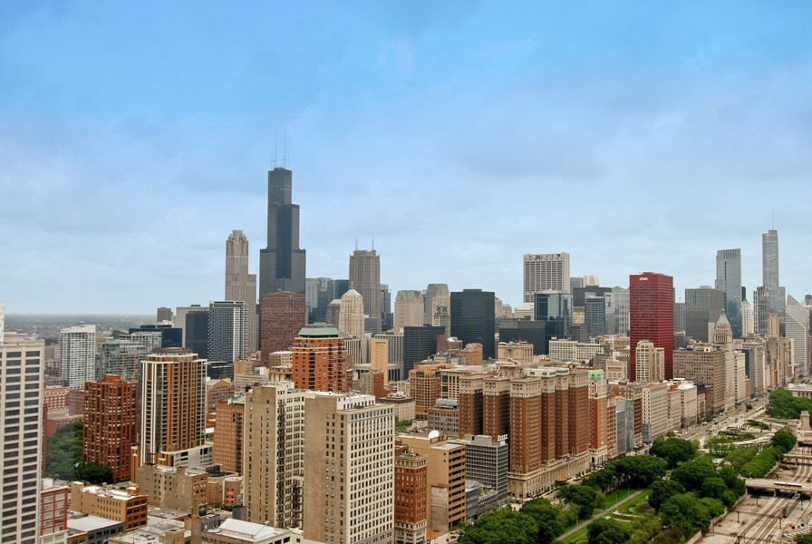Real Estate Photography - 1211 S Prairie, 4001, Chicago, IL, 60605 - City View