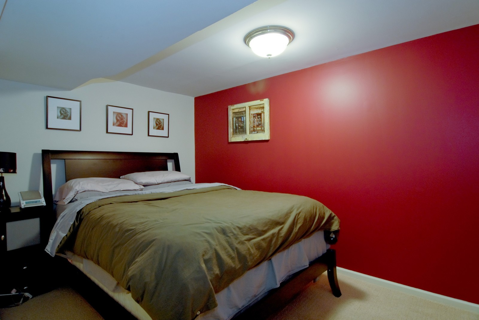 Real Estate Photography - 2646 N Seminary, Unit 1, Chicago, IL, 60614 - 3rd bedroom