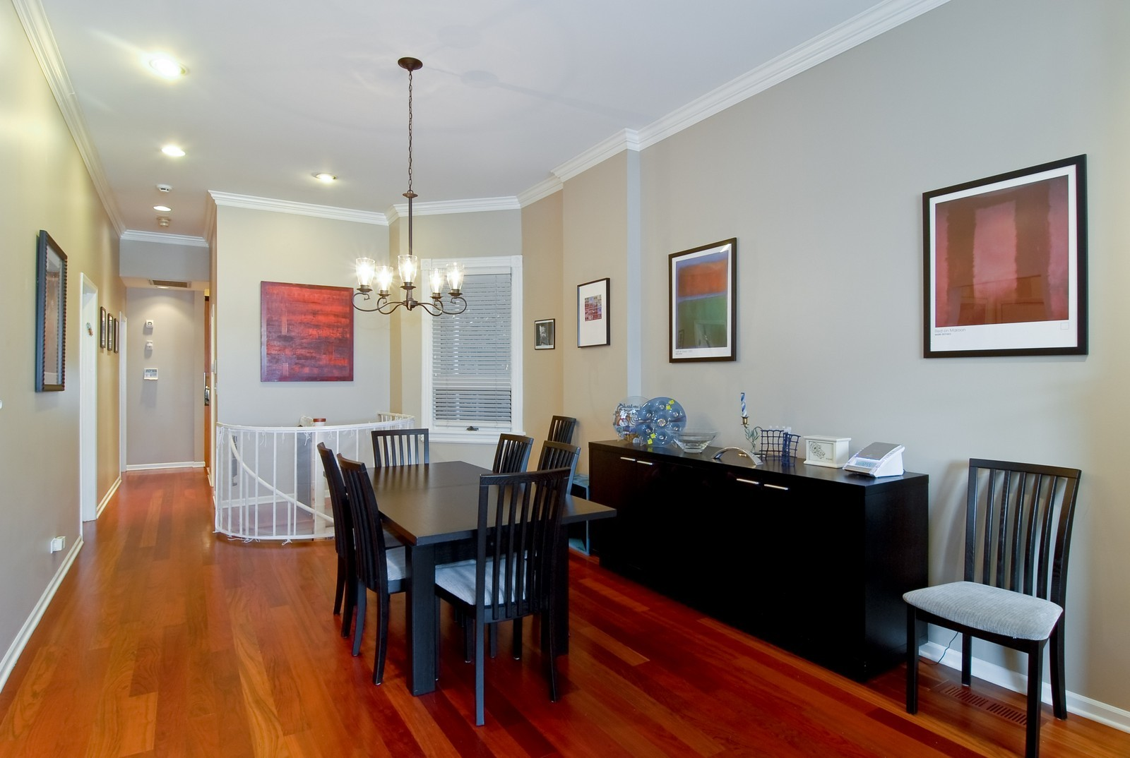 Real Estate Photography - 2646 N Seminary, Unit 1, Chicago, IL, 60614 - Dining Room