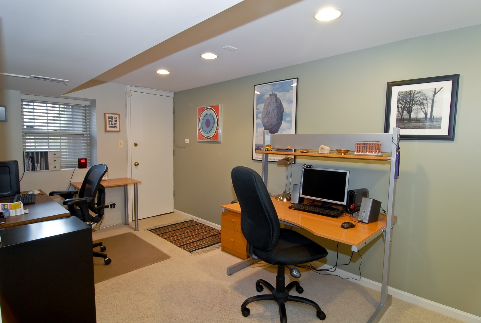 Real Estate Photography - 2646 N Seminary, Unit 1, Chicago, IL, 60614 - 4th bed / Office