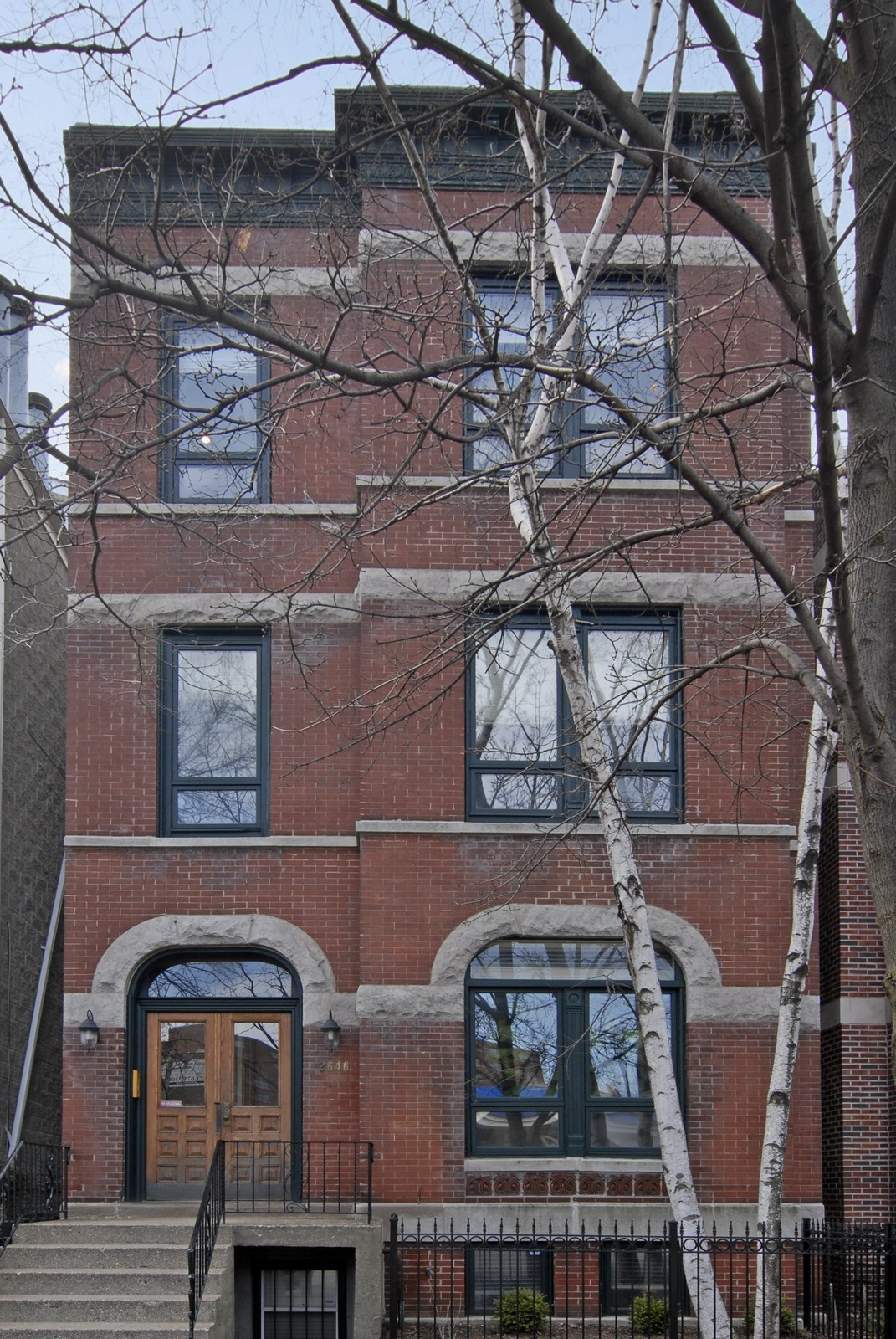 Real Estate Photography - 2646 N Seminary, Unit 1, Chicago, IL, 60614 - Front View