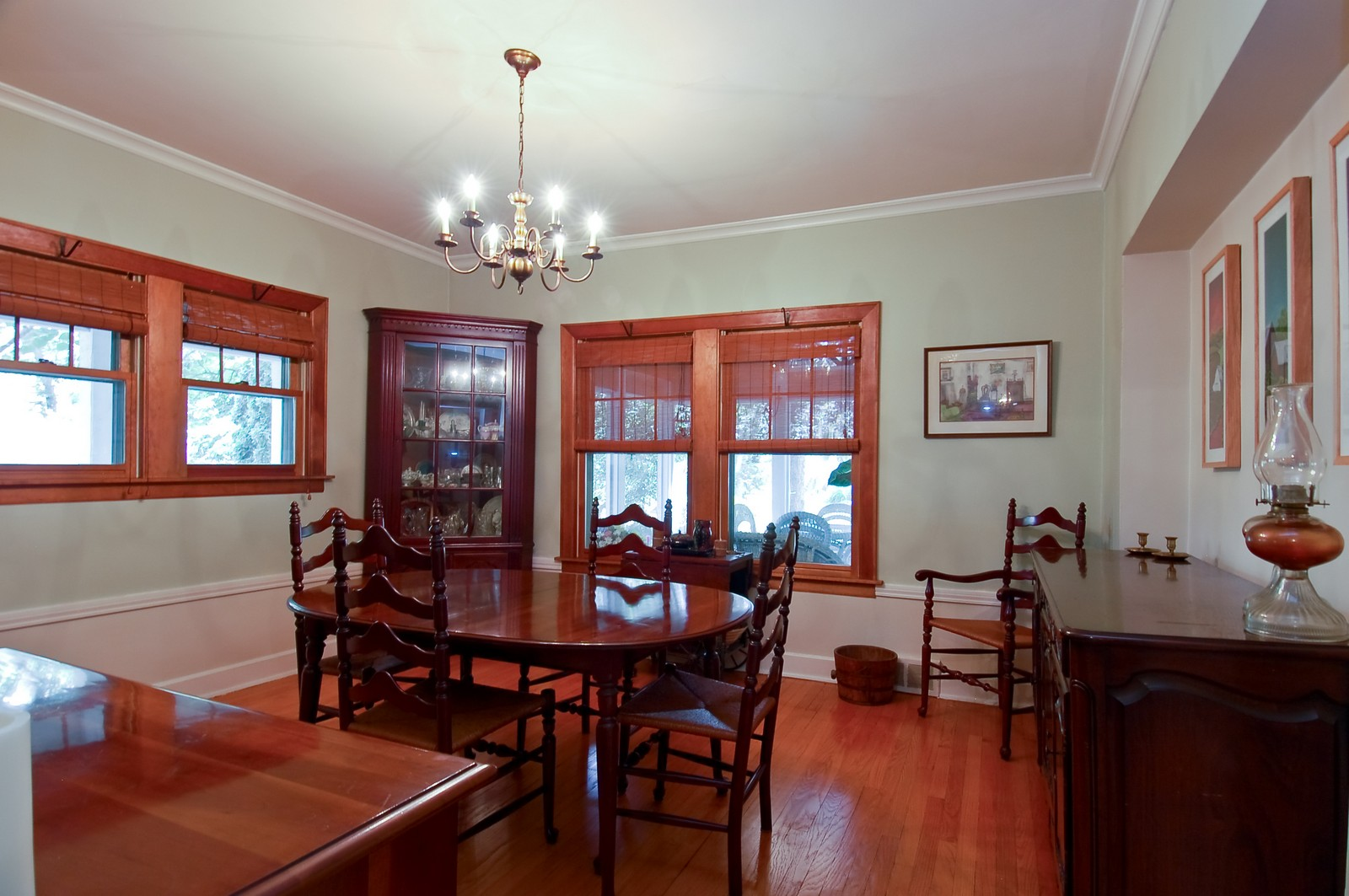 Real Estate Photography - 4325 Central Ave, Western Springs, IL, 60558 - Dining Room