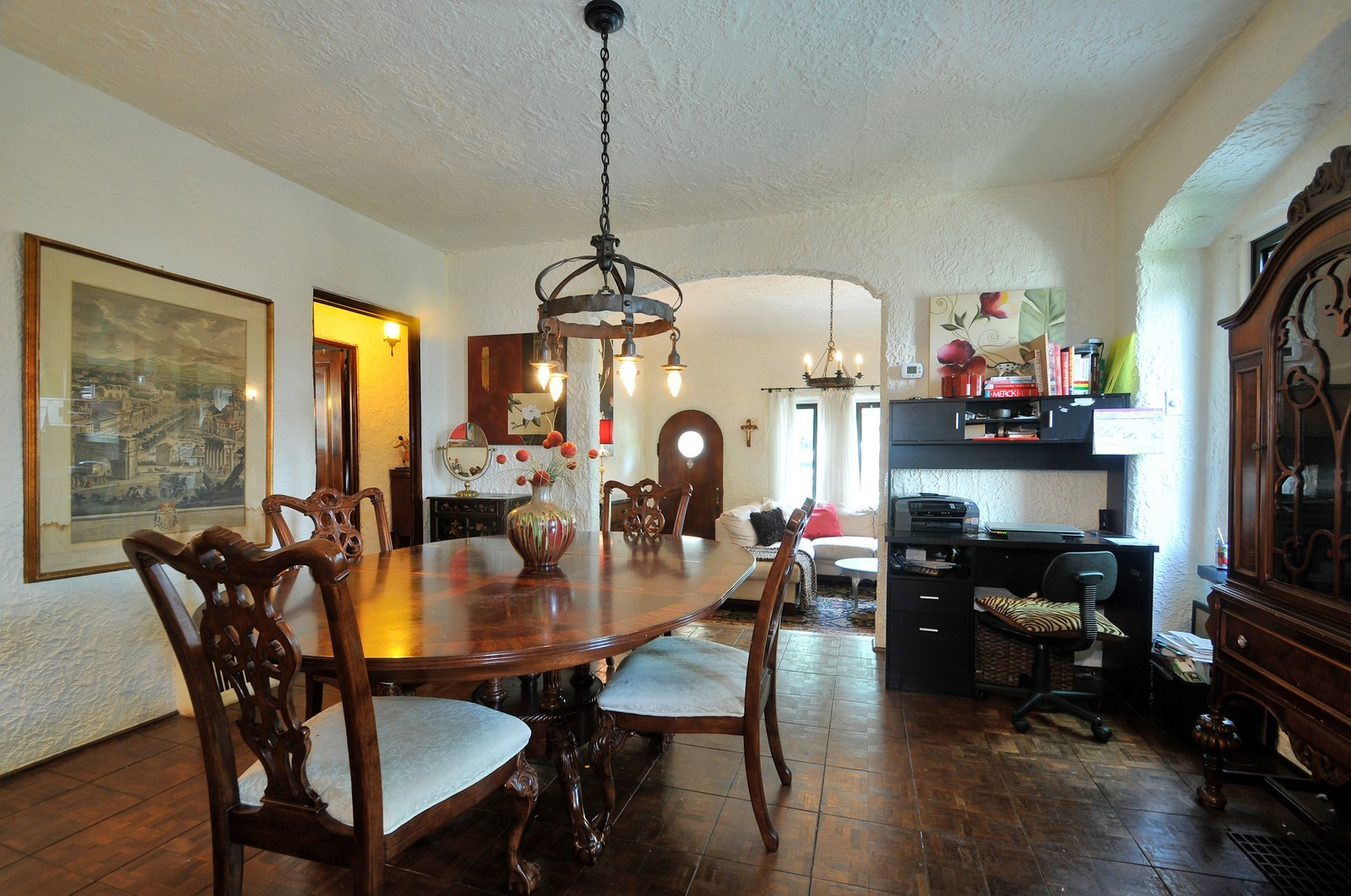 Real Estate Photography - 5749 W Manton, Chicago, IL, 60646 - Living Room / Dining Room