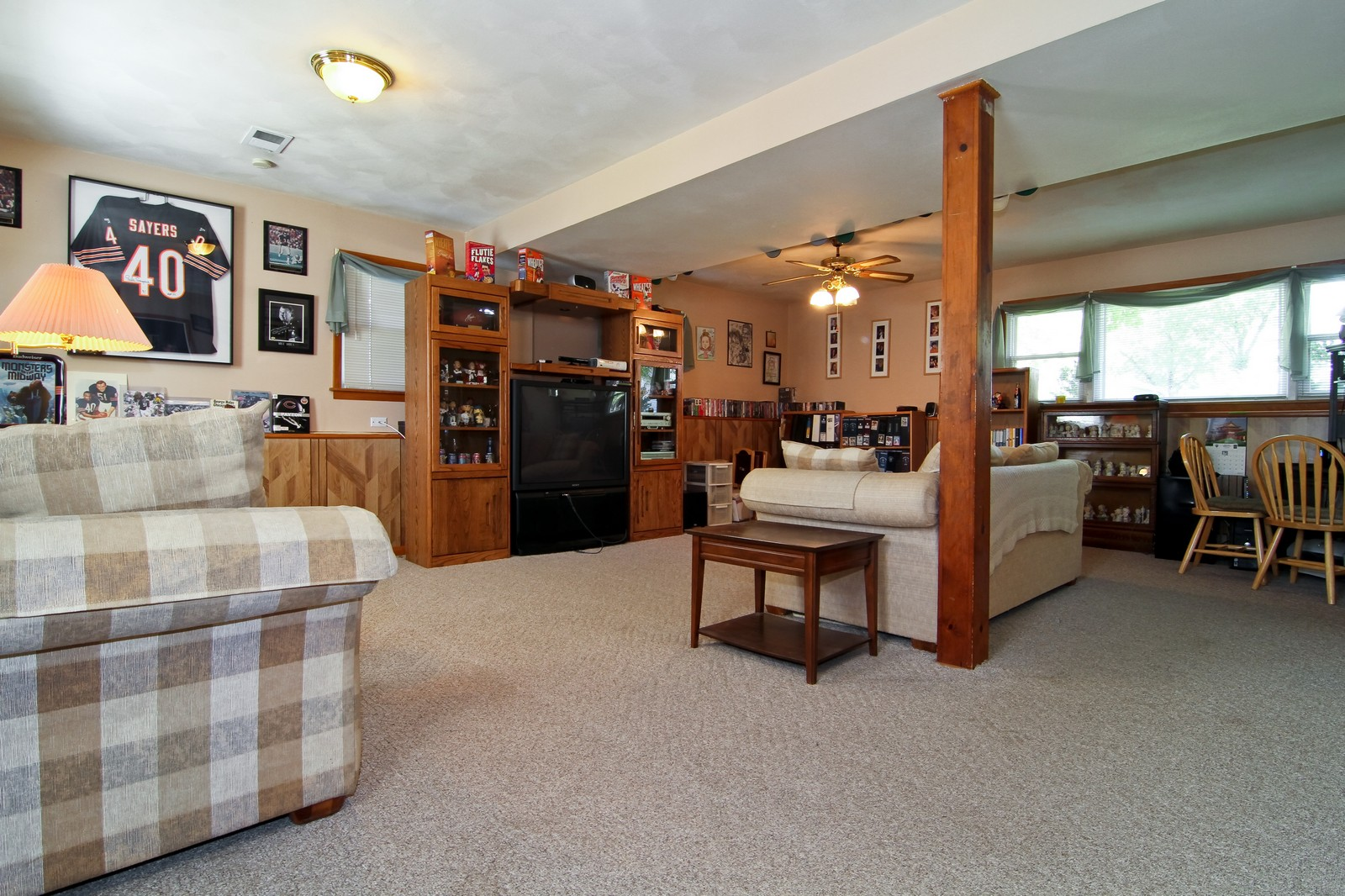 Real Estate Photography - 632 S. Lalonde Ave, Lombard, IL, 60148 - Basement