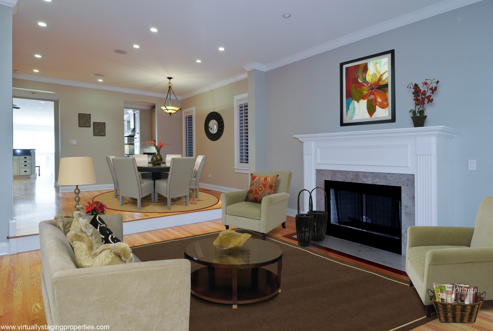 Real Estate Photography - 2247 N Clifton, Chicago, IL, 60614 - Living Room