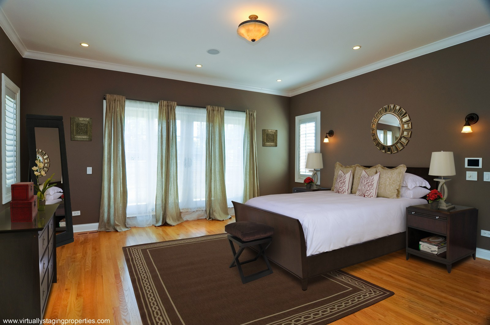 Real Estate Photography - 2247 N Clifton, Chicago, IL, 60614 - Master Bedroom