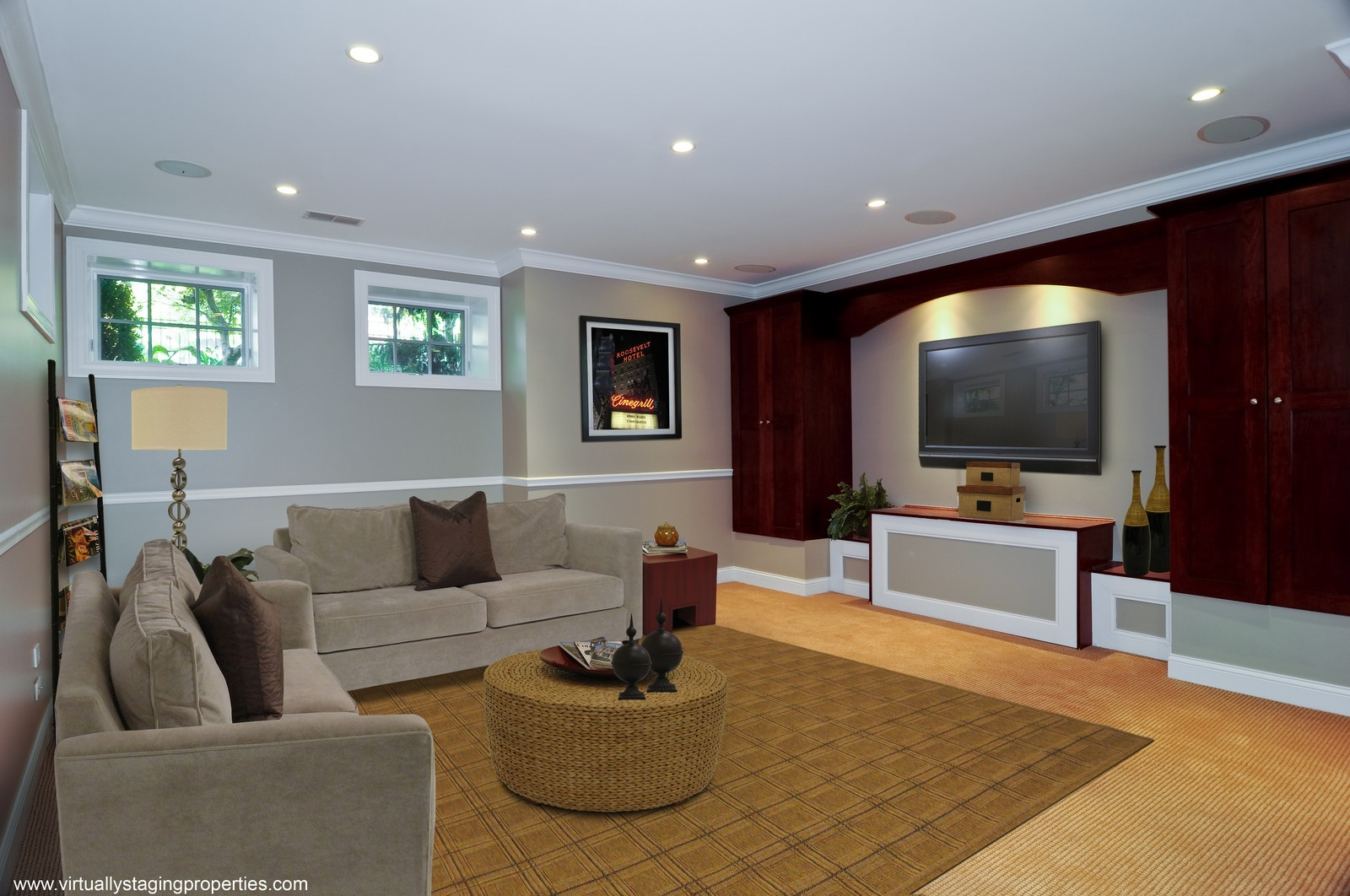 Real Estate Photography - 2247 N Clifton, Chicago, IL, 60614 - Lower Level