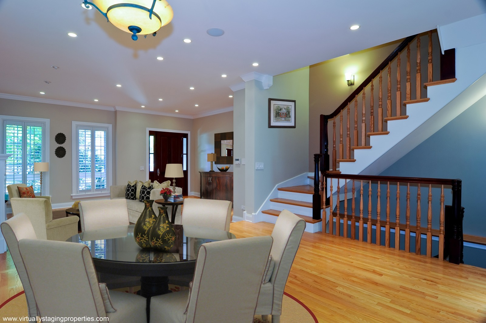 Real Estate Photography - 2247 N Clifton, Chicago, IL, 60614 - Living Room / Dining Room