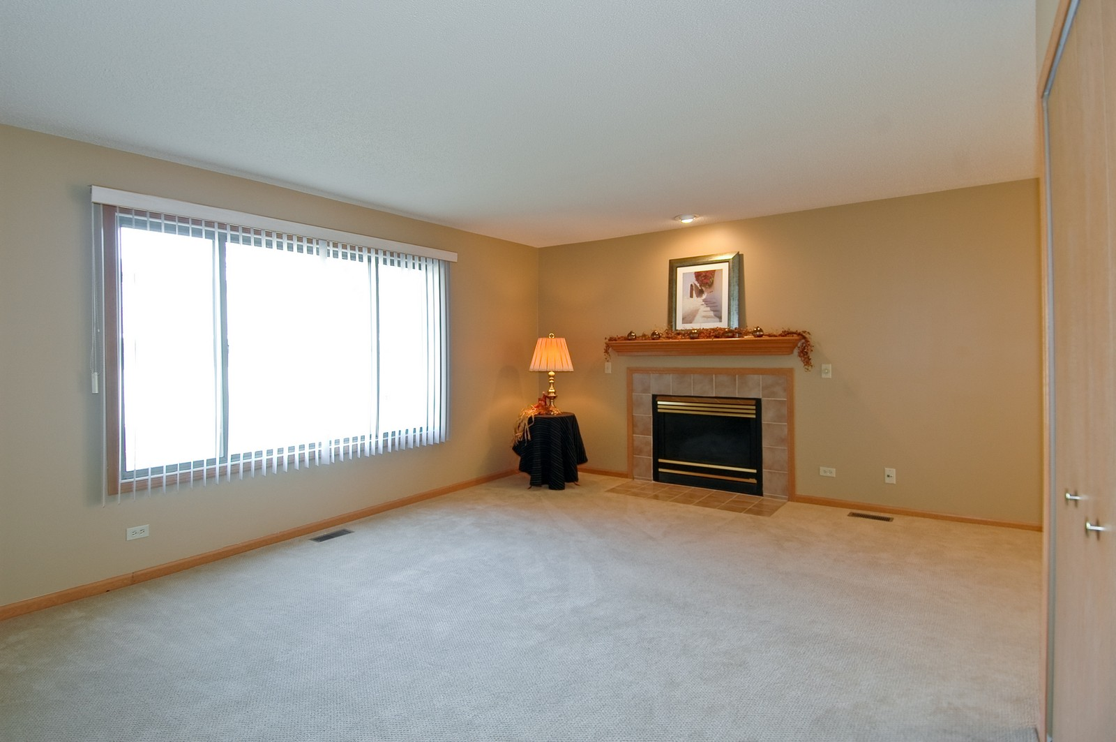 Real Estate Photography - 420 Westwood Ct, A, Crystal Lake, IL, 60014 - Living Room