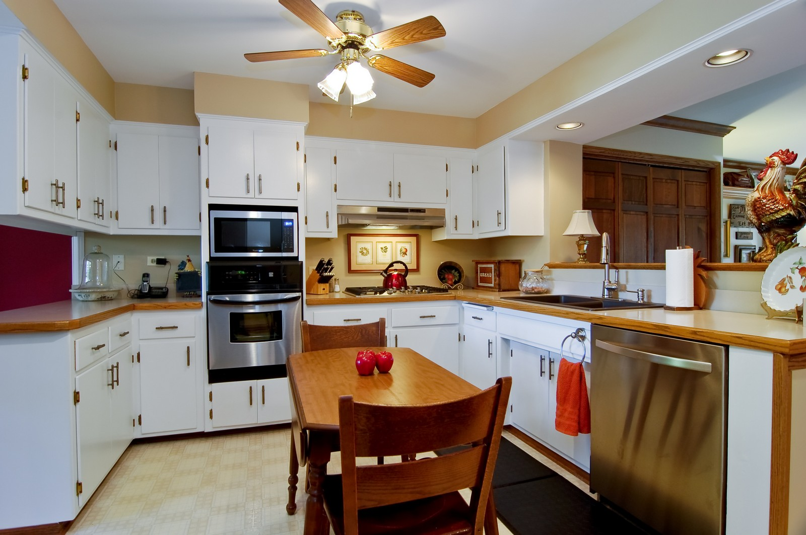 Real Estate Photography - 1025 S Ashland, LaGrange, IL, 60525 - Kitchen