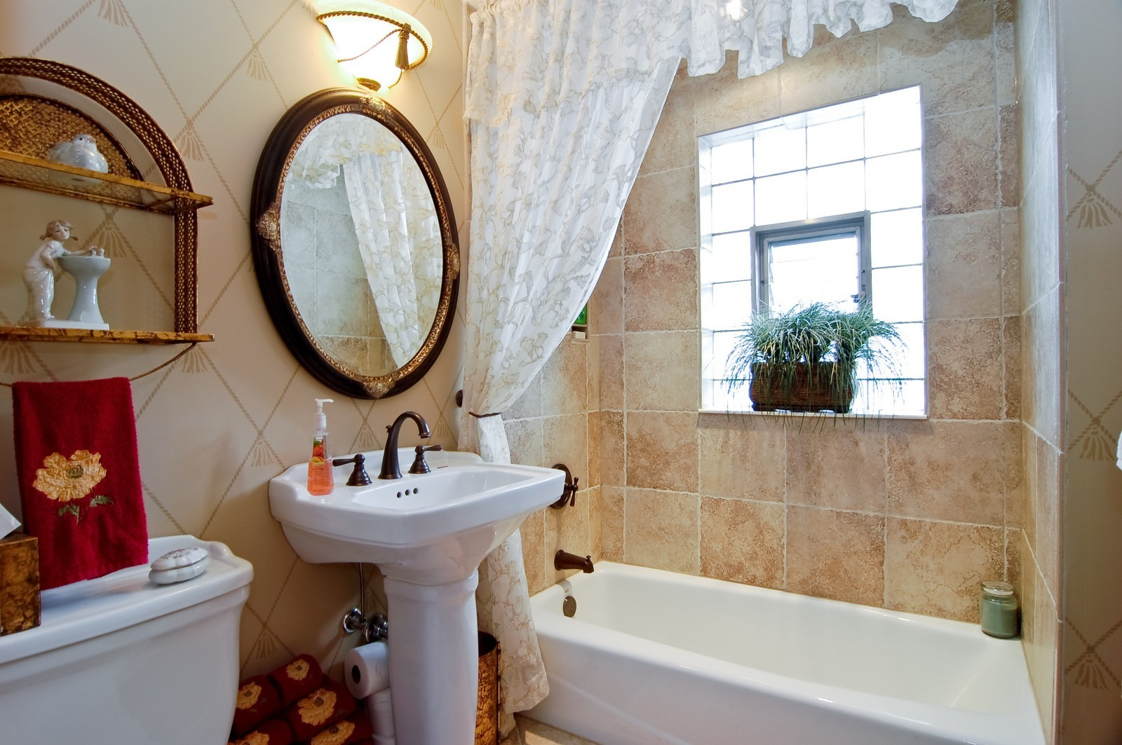 Real Estate Photography - 1025 S Ashland, LaGrange, IL, 60525 - Bathroom