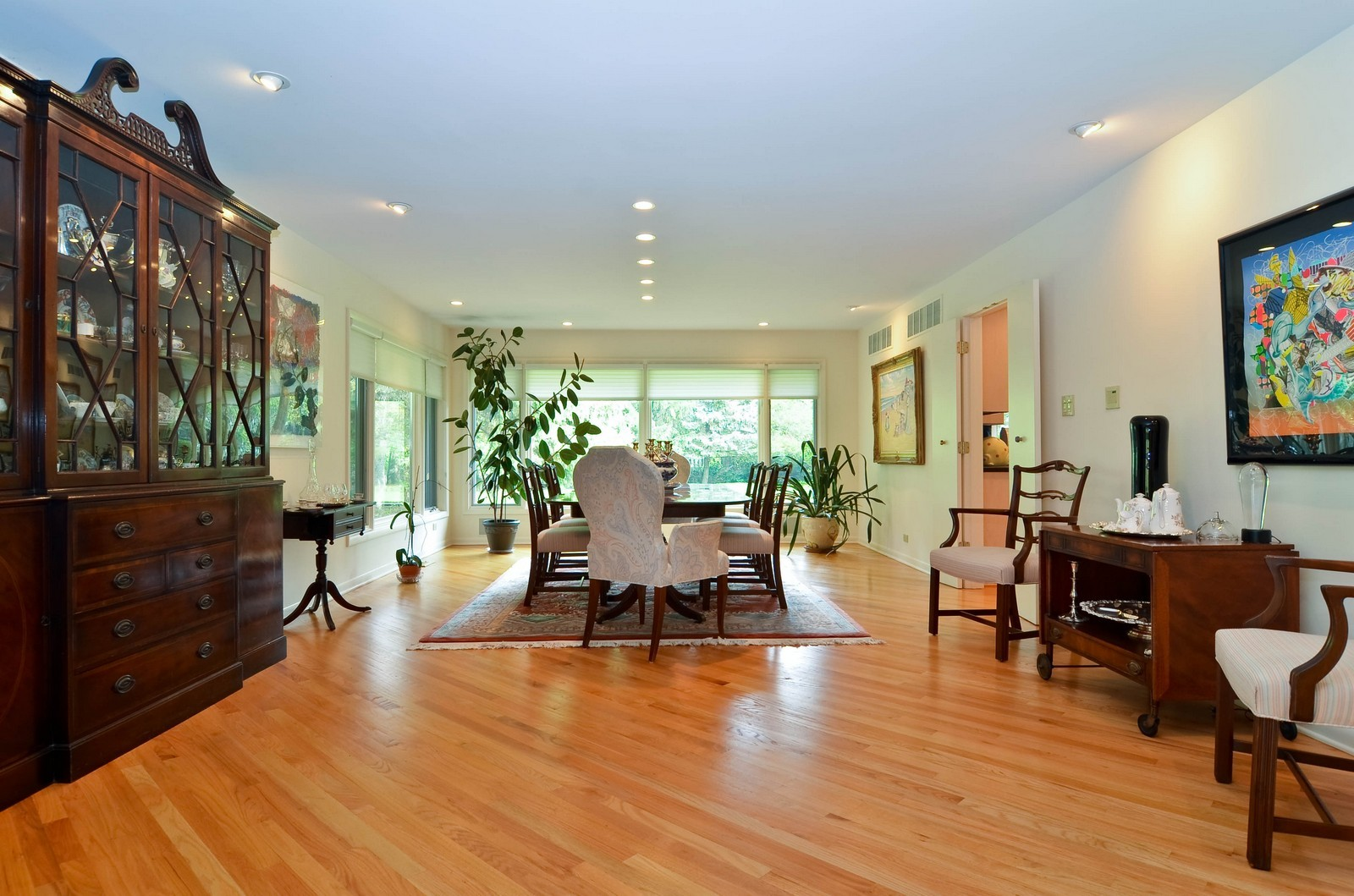 Real Estate Photography - 2265 Cedar, Northbrook, IL, 60062 - Dining Room