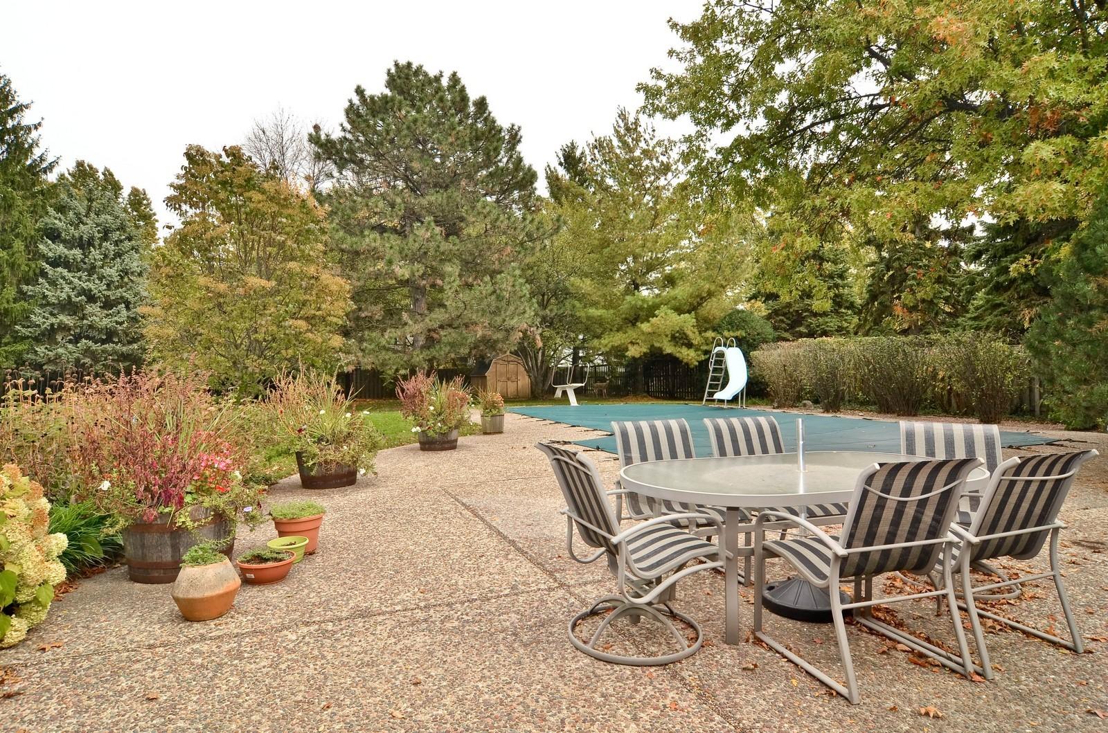 Real Estate Photography - 2265 Cedar, Northbrook, IL, 60062 - Pool