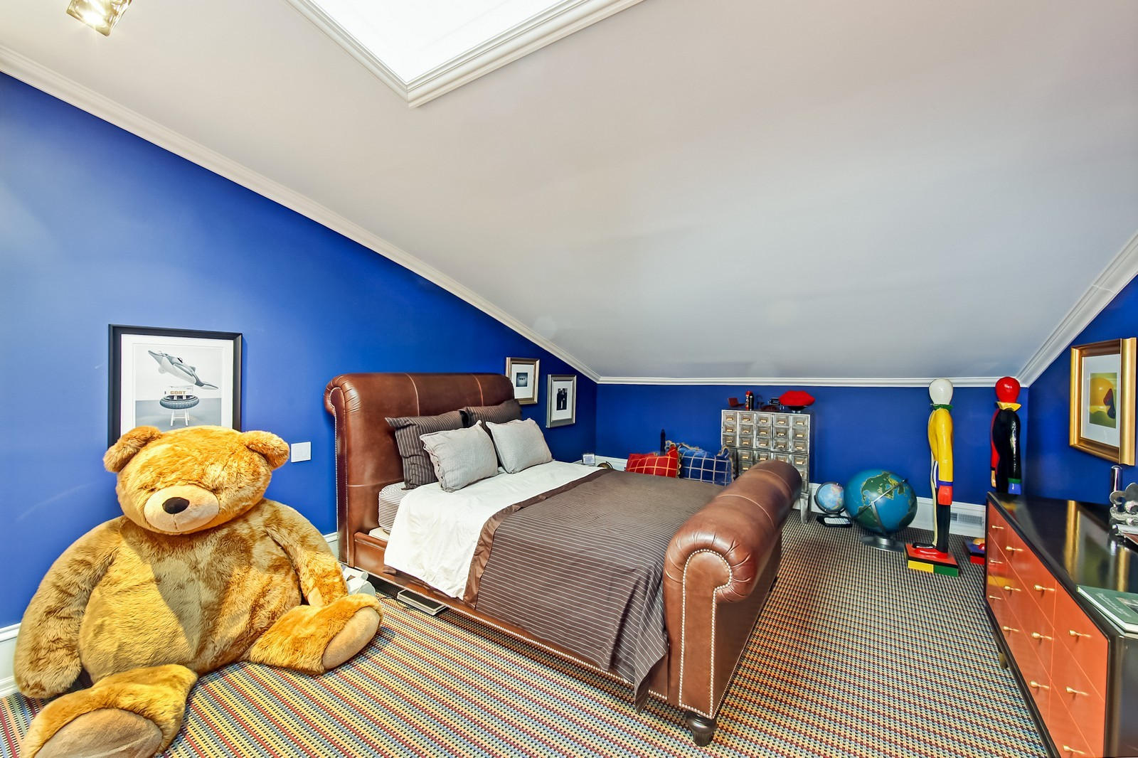 Real Estate Photography - 1424 W Ohio St, Chicago, IL, 60622 - 4th Bedroom