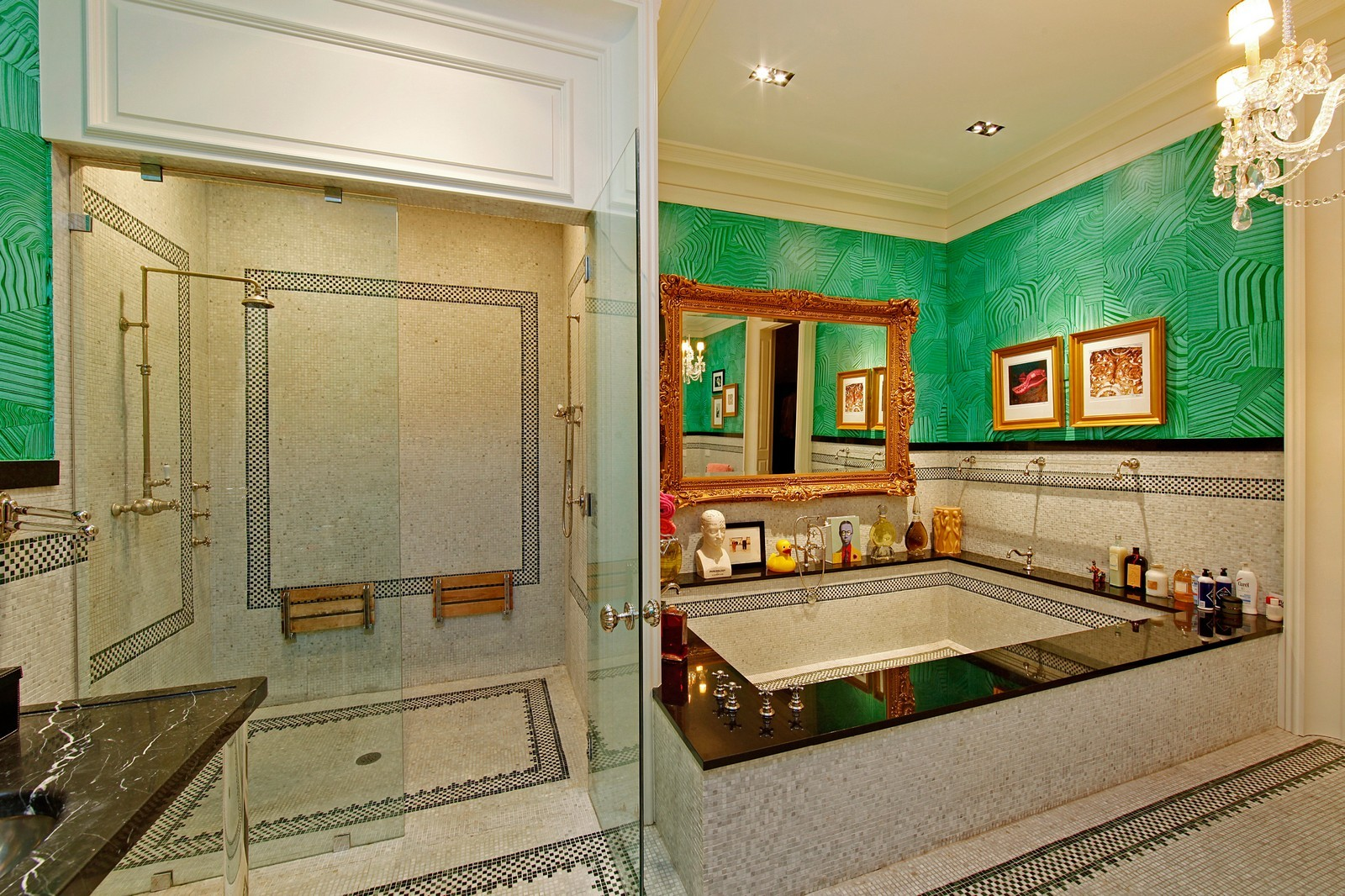 Real Estate Photography - 1424 W Ohio St, Chicago, IL, 60622 - Master Bathroom