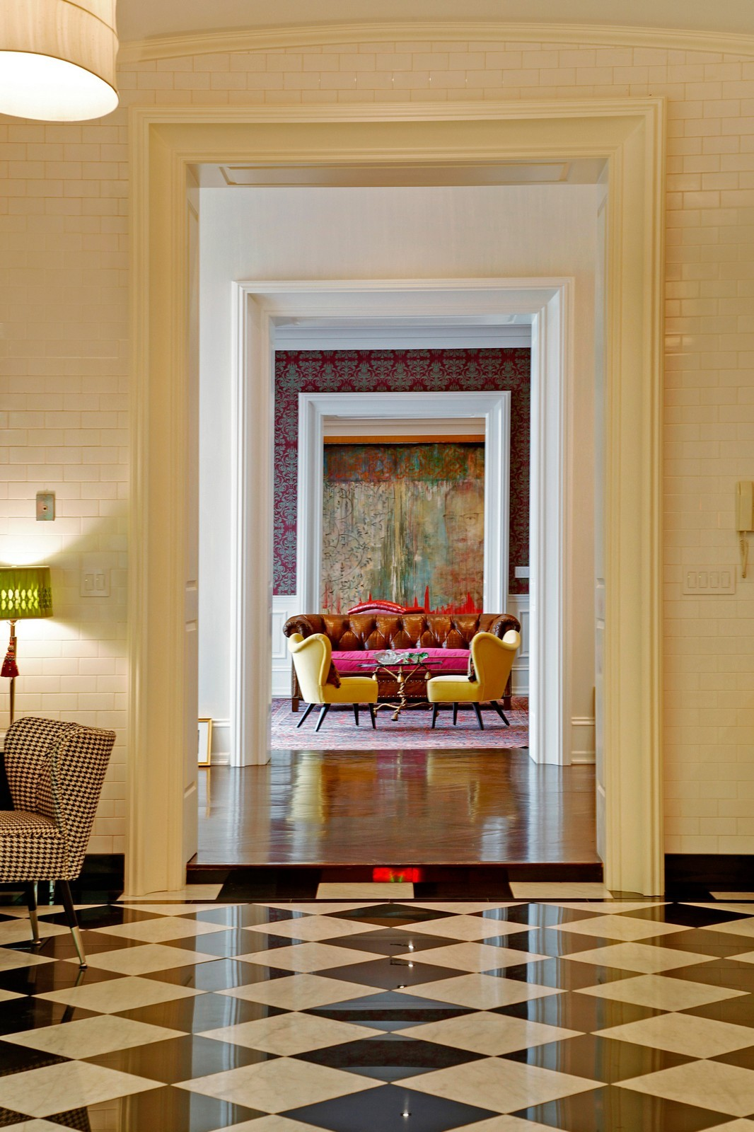 Real Estate Photography - 1424 W Ohio St, Chicago, IL, 60622 - Hallway