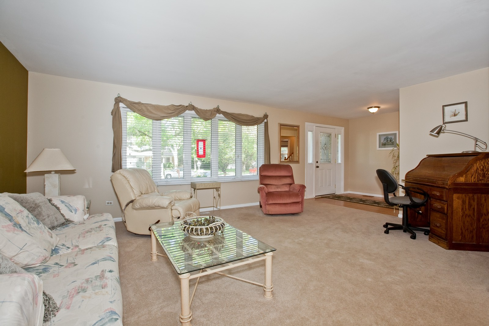 Real Estate Photography - 6511 Terrace, Downers Grove, IL, 60516 - Living Room