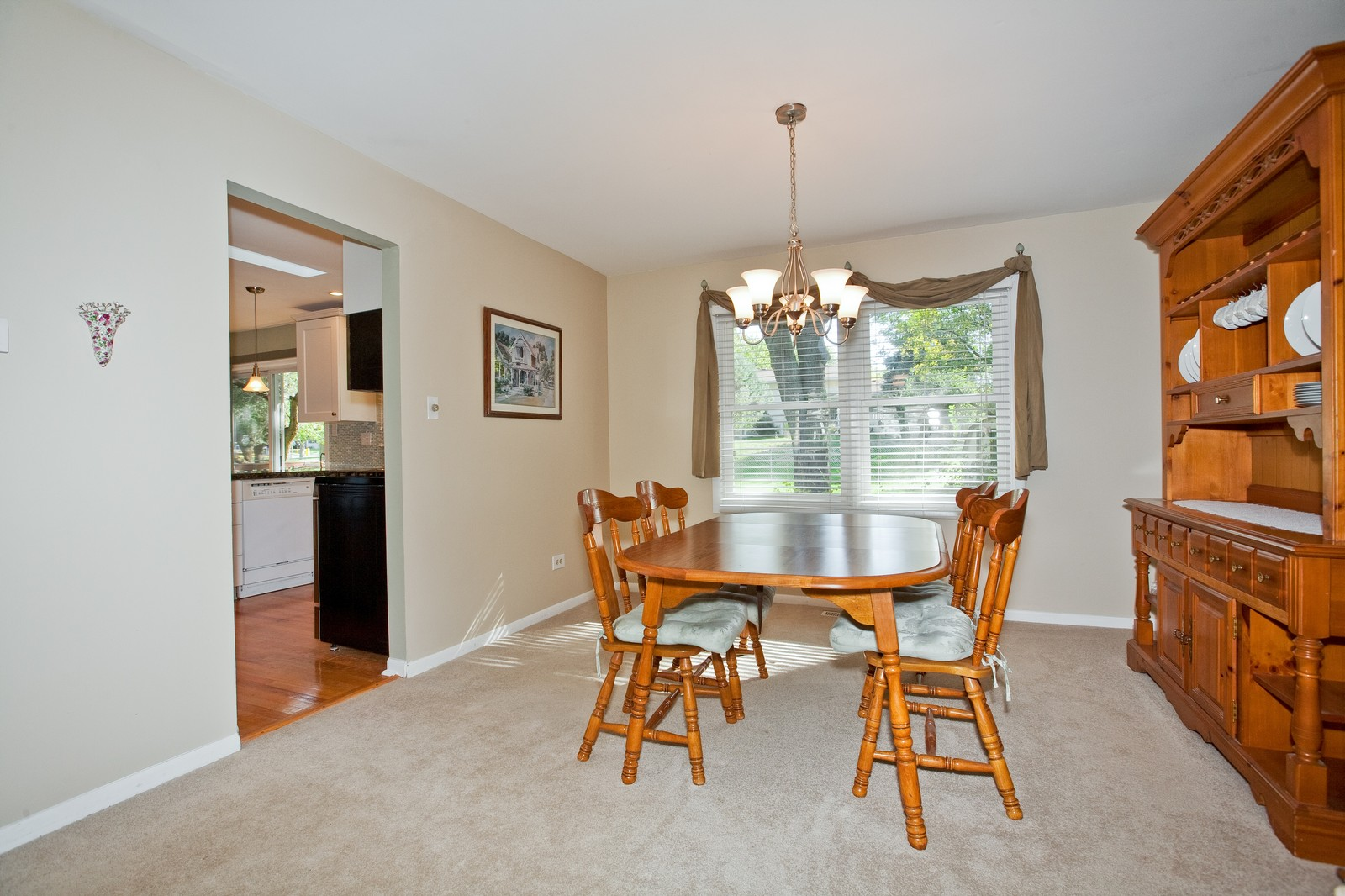 Real Estate Photography - 6511 Terrace, Downers Grove, IL, 60516 - Dining Room