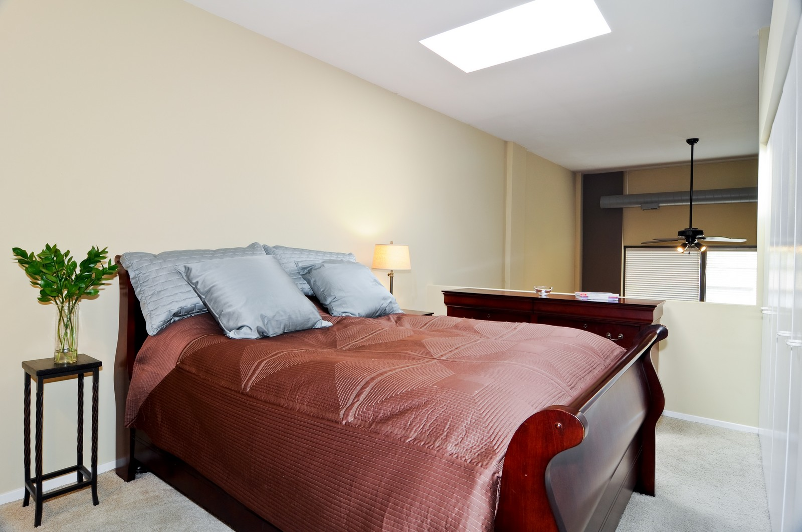 Real Estate Photography - 1100 West Cornelia, #126, Chicago, IL, 60657 - Master Bedroom