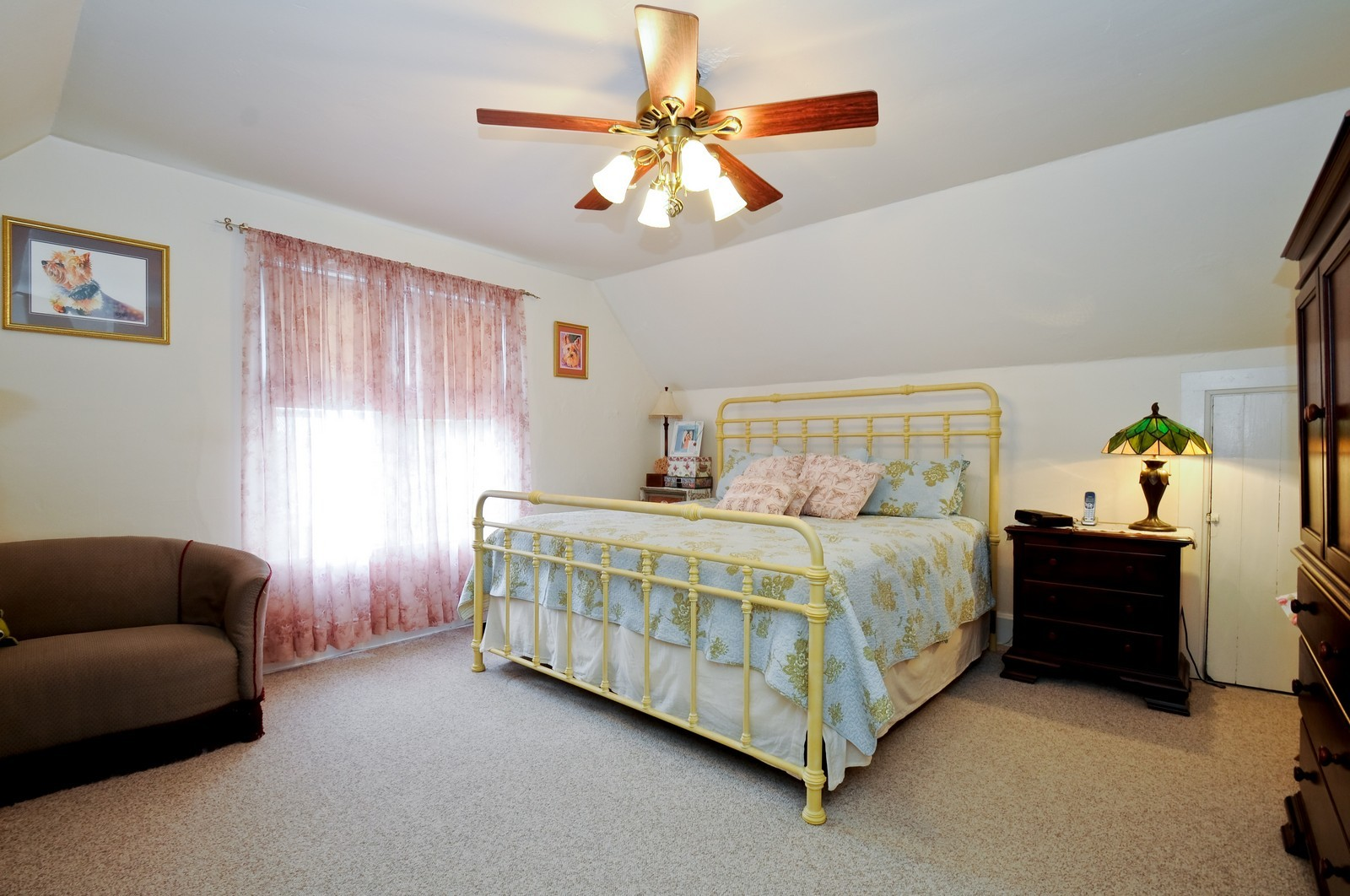 Real Estate Photography - 116 N Wolcott, Thornton, IL, 60476 - Master Bedroom