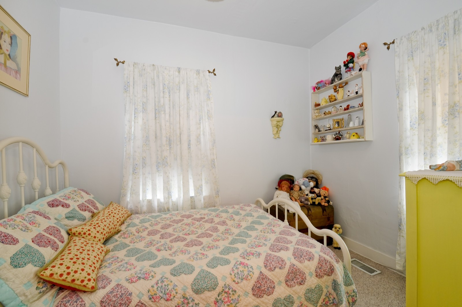 Real Estate Photography - 116 N Wolcott, Thornton, IL, 60476 - 2nd Bedroom