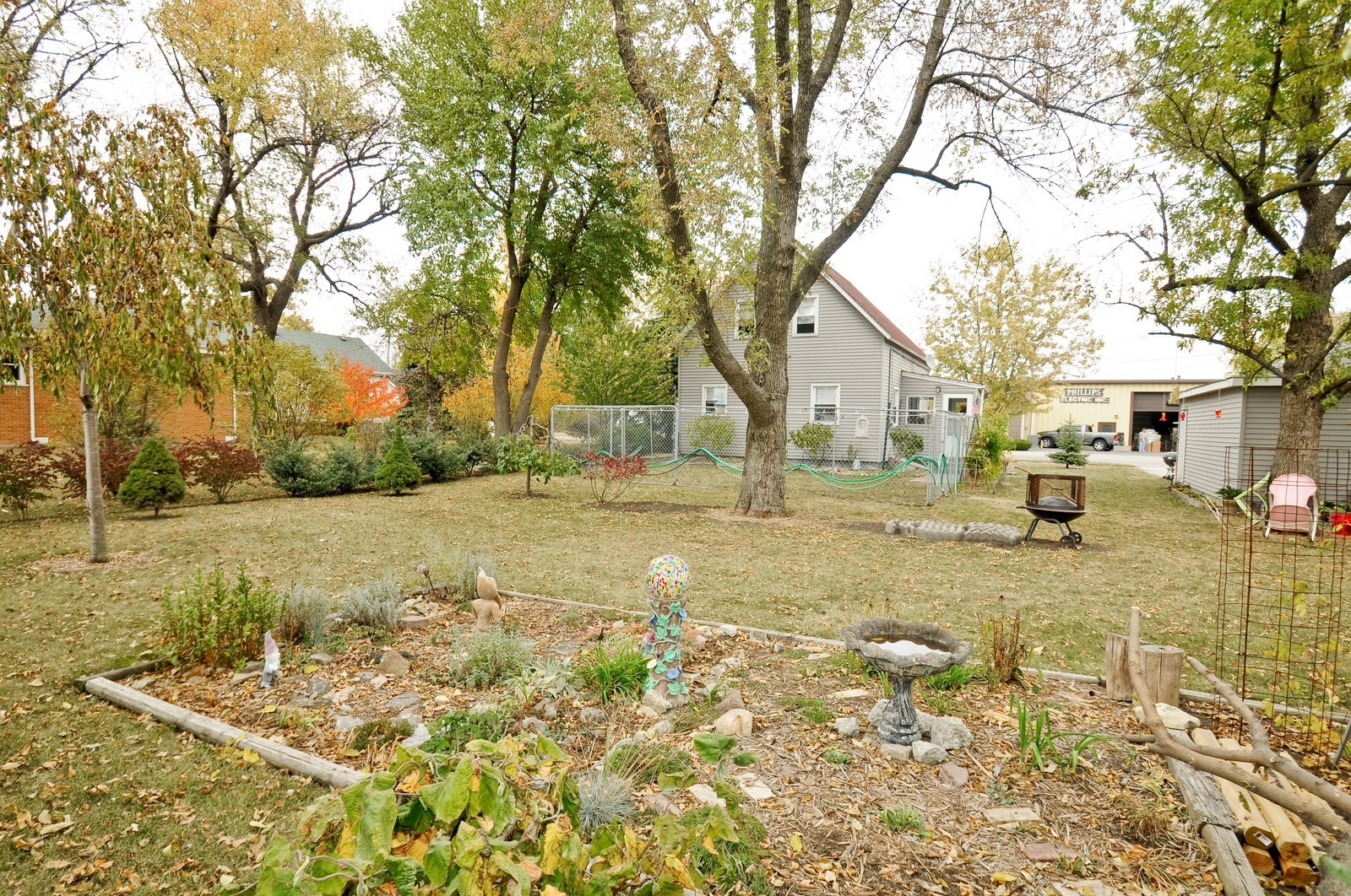 Real Estate Photography - 116 N Wolcott, Thornton, IL, 60476 - Back Yard