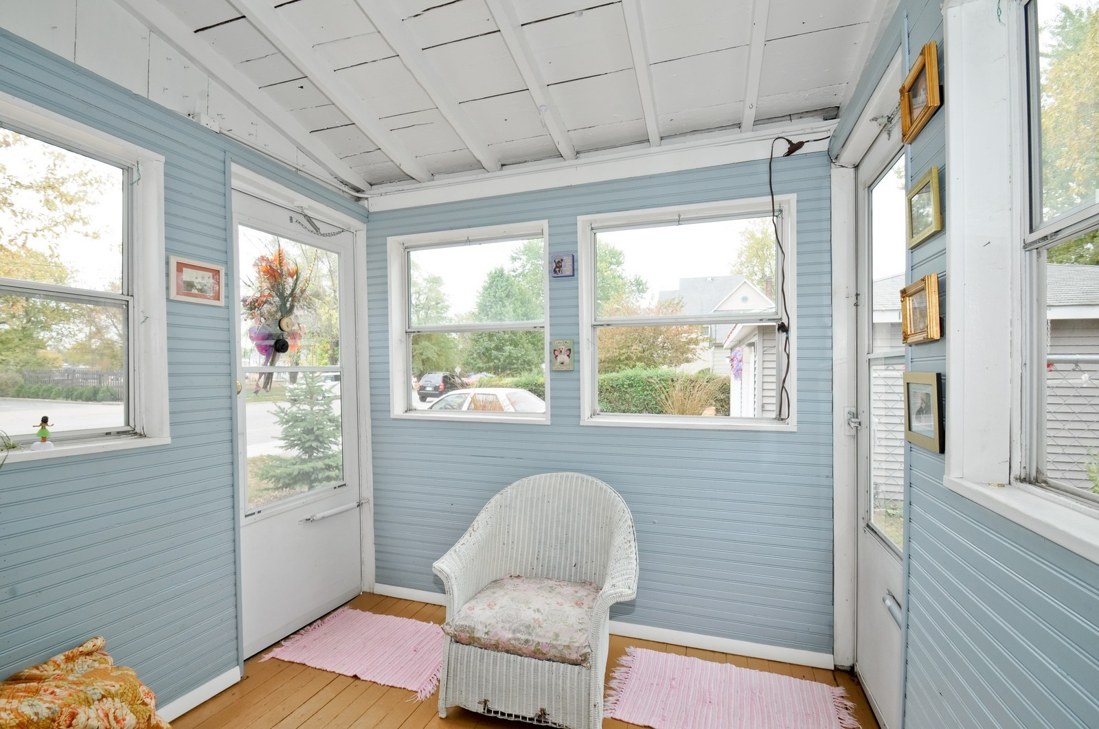 Real Estate Photography - 116 N Wolcott, Thornton, IL, 60476 - Porch